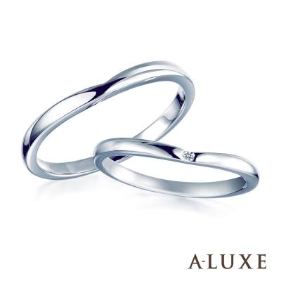 A-LUXE 亞立詩 Eternal 結婚戒 18K金男女對戒