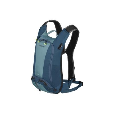 SHIMANO UNZEN 登山車後背包-無水袋 6L 愛琴藍