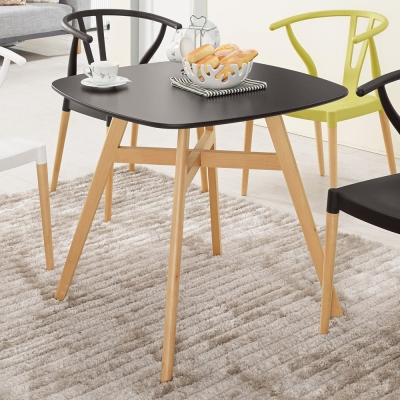 Boden-羅吉2.7尺北歐風洽談桌/休閒桌/餐桌-80x80x72cm