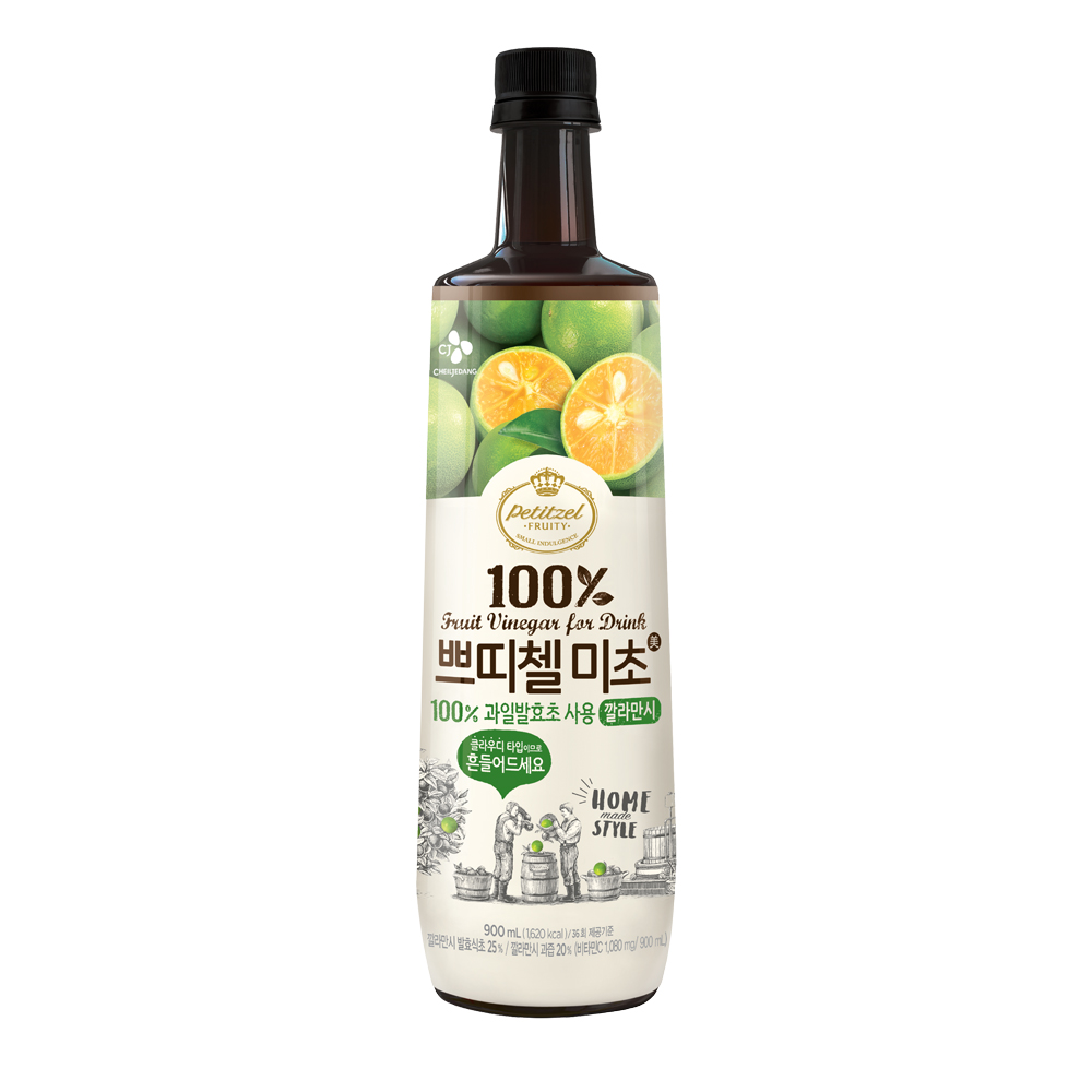 韓味不二 CJ金桔水果醋(900ml)