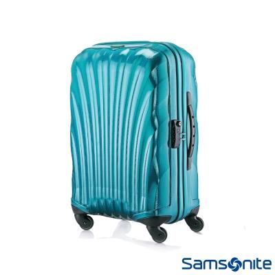 Samsonite新秀麗-20吋Cosmolite-Curv極輕量材質貝殼硬殼登機箱-翡翠綠