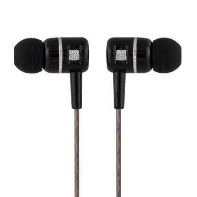 TCSTAR 有線入耳式耳機麥克風-黑 TCE7005BK