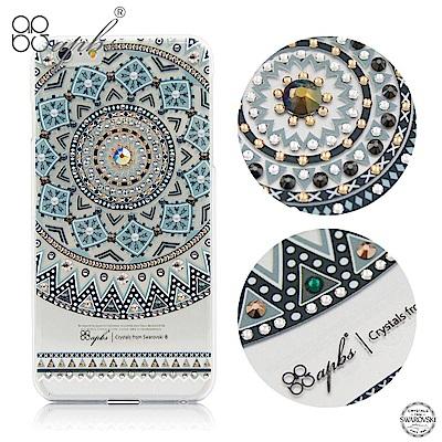 apbs iPhone6s/6 Plus 5.5吋 施華洛世奇彩鑽手機殼-歐風圖騰