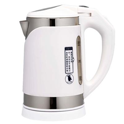 鍋寶-滑蓋式1公升不袗智慧型快煮壺-KT-100-D-雙層隔熱