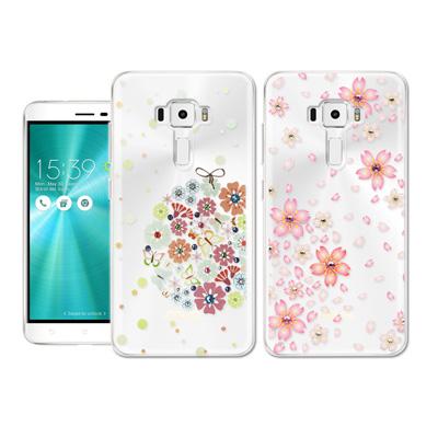 PGS施華洛世奇彩鑽 ASUS ZenFone 3 5.5吋 花語水晶手機殼