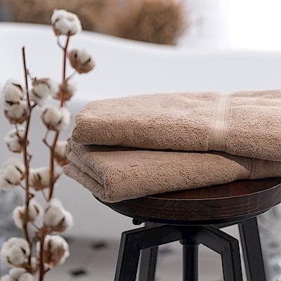 Canningvale 澳洲家用品牌 頂級埃及棉舒適浴巾 咖