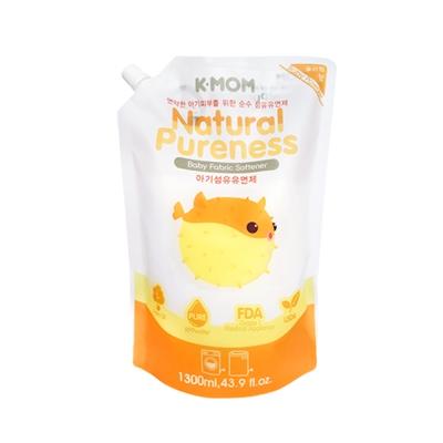 韓國MOTHER-K純淨寶寶衣物柔軟精 溫暖陽光1300ml(袋裝)