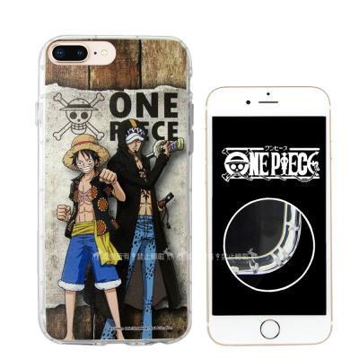 航海王夥伴 iPhone 8 Plus/7 Plus 空壓殼(魯夫&羅)