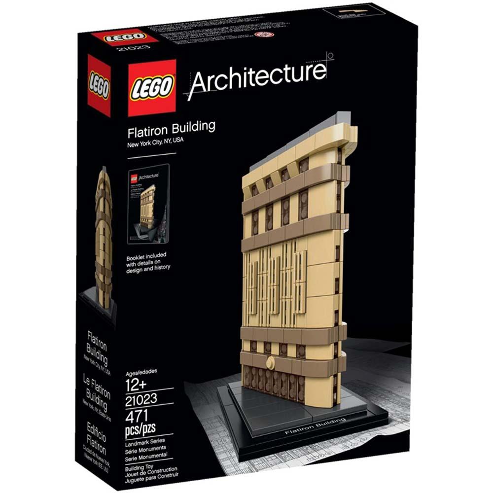 LEGO 樂高玩具 世界建築系列 紐約熨斗大廈 21023