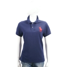 Ralph Lauren Fit Big Pony 大馬刺繡短袖POLO衫(深藍)