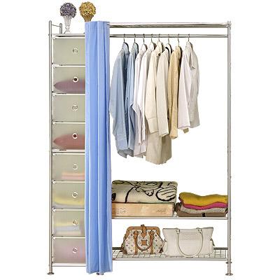 巴塞隆納─W3+D型90公分衣櫥置物架
