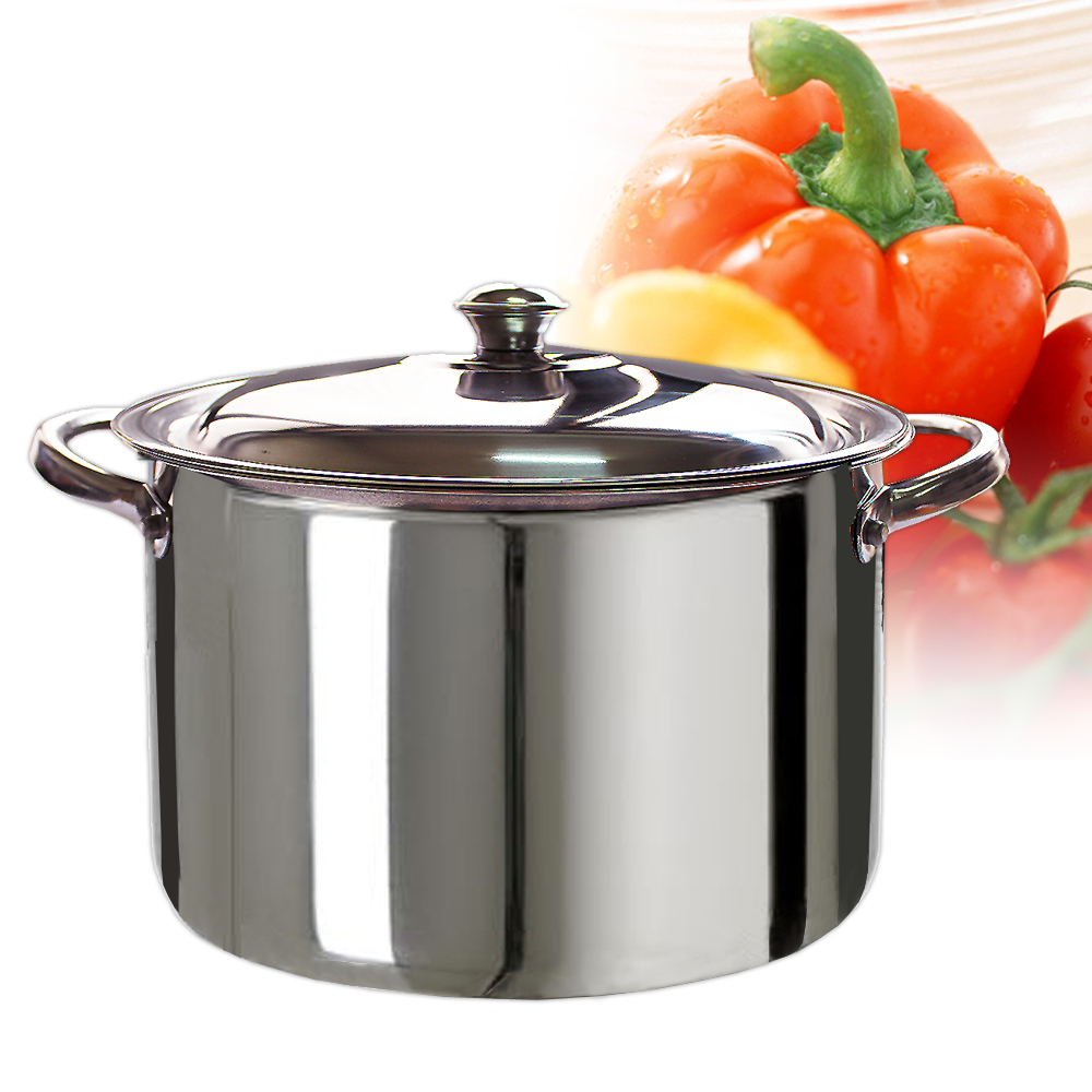 【三零四嚴選】不鏽鋼湯鍋 (28cm/個)