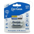 GS Yuasa 日本湯淺 低自放鎳氫充電電池 800mAh(4號 2入)