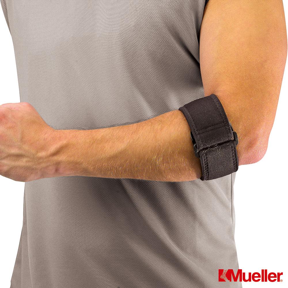 MUELLER慕樂墊片加強型網球高爾夫球肘護具MUA70207
