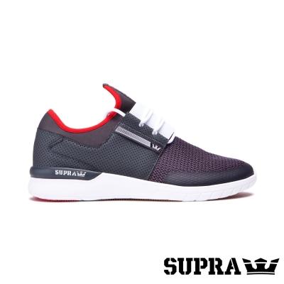SUPRA Flow run系列男鞋-鐵灰/白