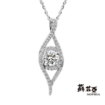 蘇菲亞SOPHIA 鑽石項鍊 - 海娜瑞 0.28克拉鑽鍊