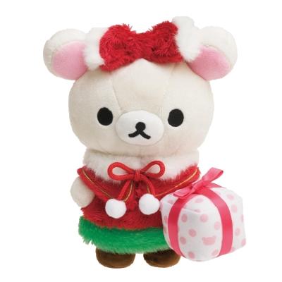 拉拉熊2017聖誕節店舖限定版毛絨公仔。懶妹  San-X