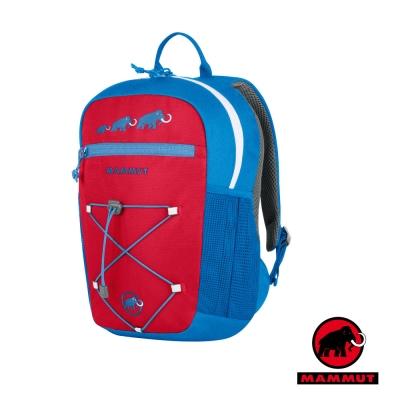 瑞士 MAMMUT 長毛象 新款 First Zip 兒童背包16L(附玩偶)_藍紅