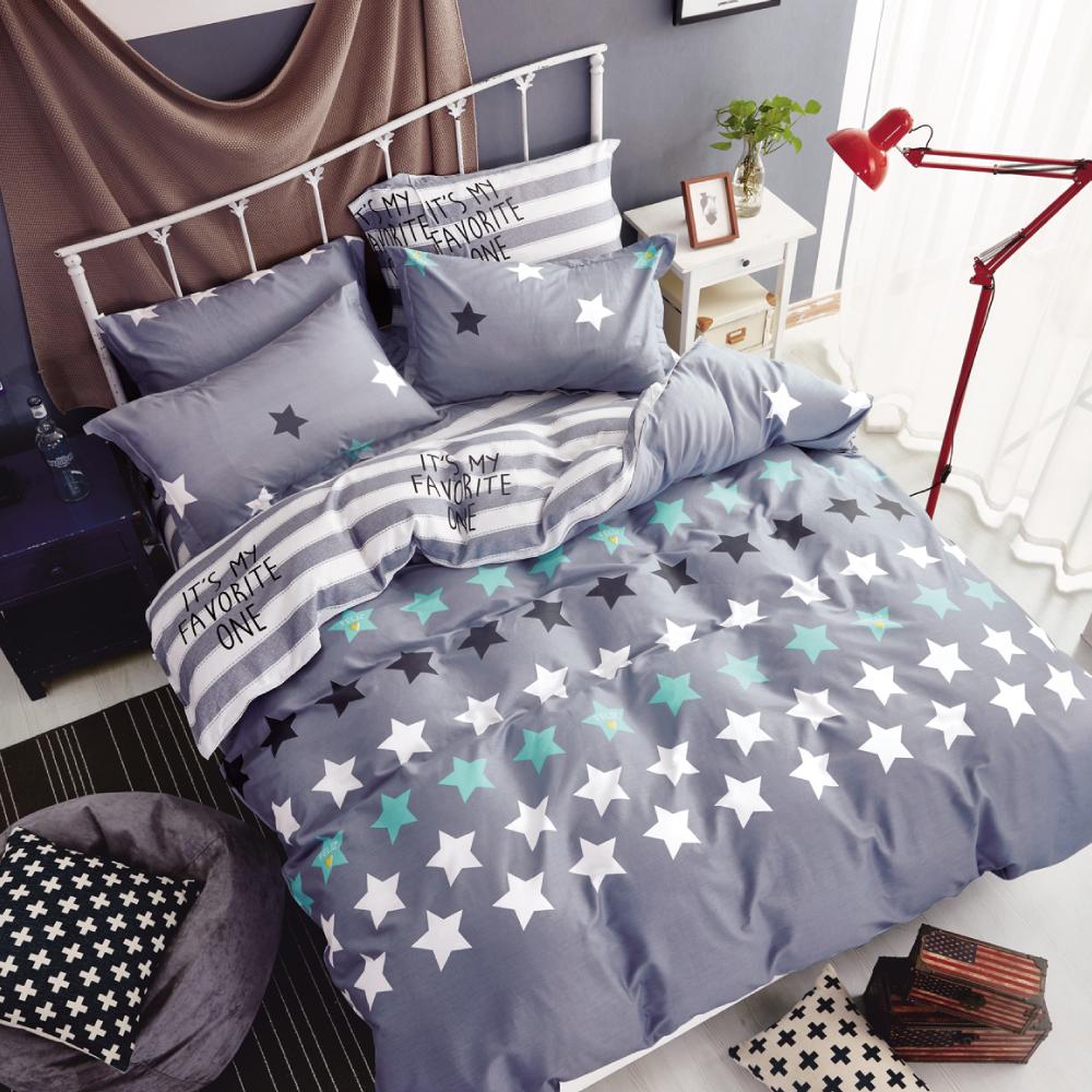 Grace Life 星之物語 精梳純棉單人涼被床包三件組