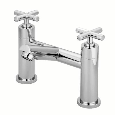 BACHOR 10828雙把手檯面式浴缸龍頭組