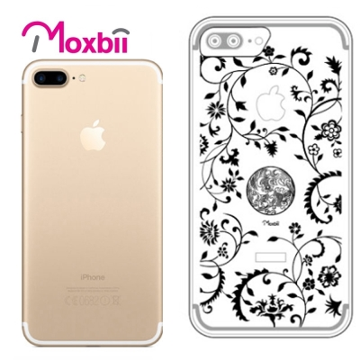 Moxbii iPhone 7 Plus 5.5吋 simpOcase光雕殼-青...