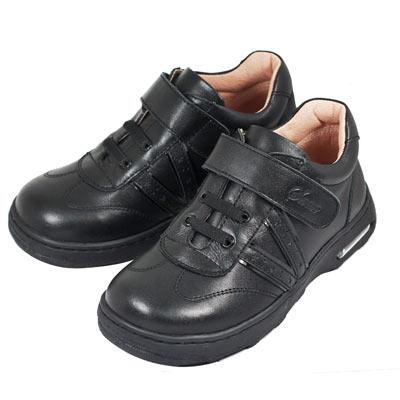 Swan天鵝童鞋-休閒氣墊學生鞋6328-黑
