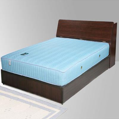 Homelike 諾雅3.5尺床組+獨立筒床墊-單人(二色任選)