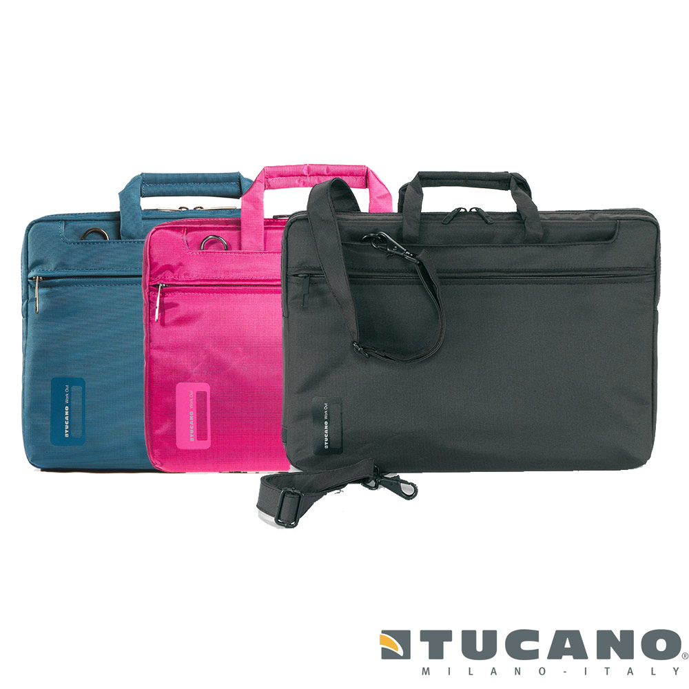 Tucano WORK_OUT 迷你亮彩時尚側背包 11.6 吋(共四色)