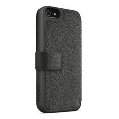 Belkin iPhone 5S / 5 皮夾式保護套