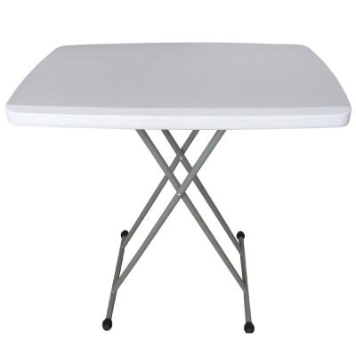 【免工具】深49.5x寬76.5x高37-74/公分-六段式可調整折疊桌/書桌/餐桌-1入