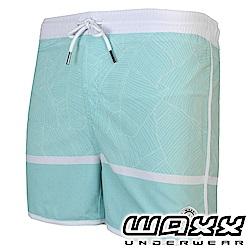 WAXX 經典系列快乾型男海灘褲(薄荷色)(15英吋)