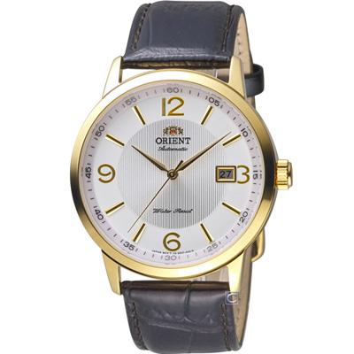 ORIENT東方錶經典自動上鍊機械錶(FER27004W)-42mm