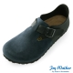 Joy Walker 簡約扣帶休閒包鞋*藍黑 product thumbnail 1