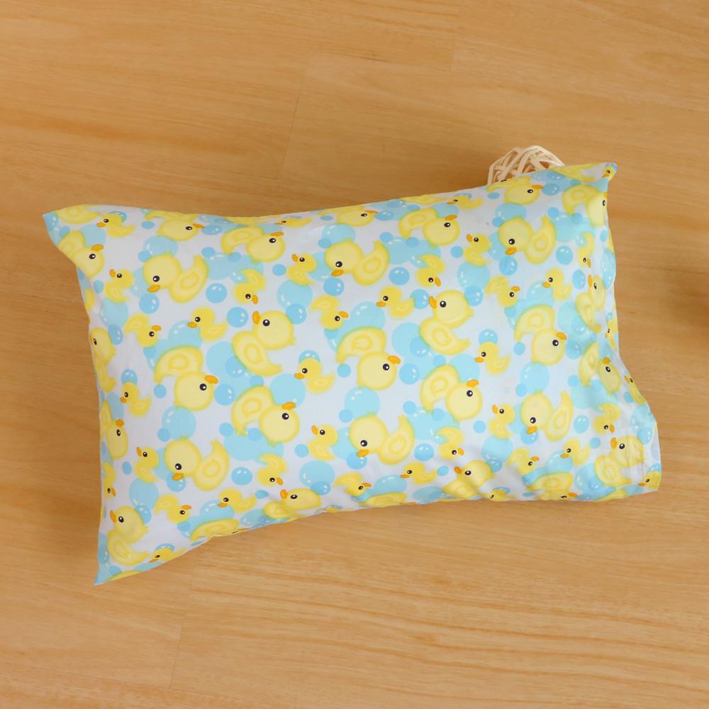 鴻宇HongYew 美國棉防蹣抗菌 黃色小鴨-兒童透氣多孔纖維枕