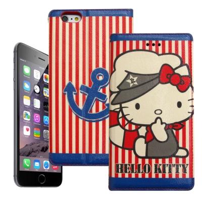 Hello Kitty iphone 6 /6s 彩繪磁力皮套(水手船長)