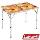 Coleman 26752 自然風抗菌摺疊桌 90x60cm 公司貨戶外行動廚房/露營炊事