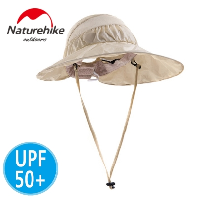 Naturehike 輕巧折疊款多功能遮陽帽 防曬帽