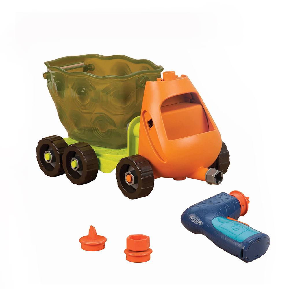 美國【B.Toys】載卡多翻斗車