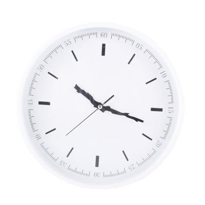 樹枝指針經典掛鐘-白/31cm