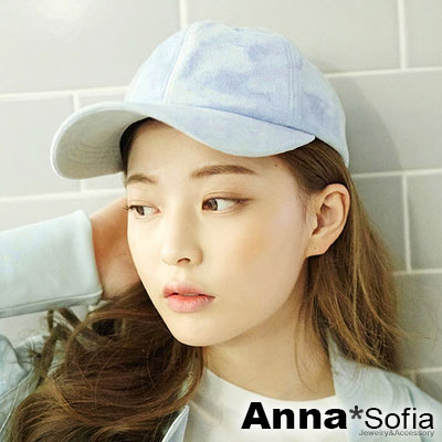 AnnaSofia-糖果色麂皮絨-棒球帽嘻哈帽街舞
