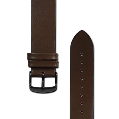 HyperGrand  Classic 經典極簡工業風真皮錶帶-棕色/20mm