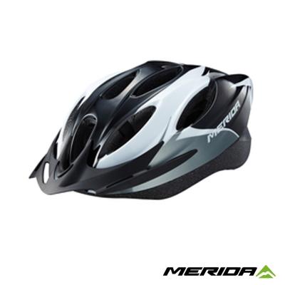 《MERIDA 》美利達CS-1700安全帽-黑/白/銀