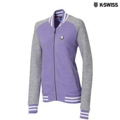 K-Swiss Ottoman FZ Jacket休閒外套-女-紫