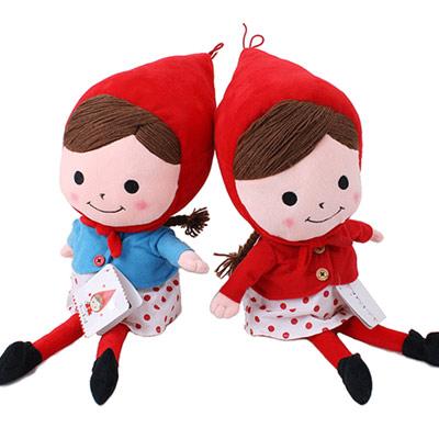 Shinzi Katoh小紅帽吊飾3.5mm耳機孔防塵防潮塞