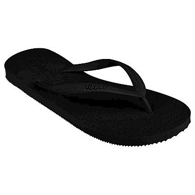Fipper BASIC-S 天然橡膠拖鞋 BLACK