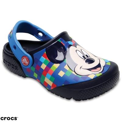 Crocs 卡駱馳(童) 趣味學院米奇小克駱格-204708-410