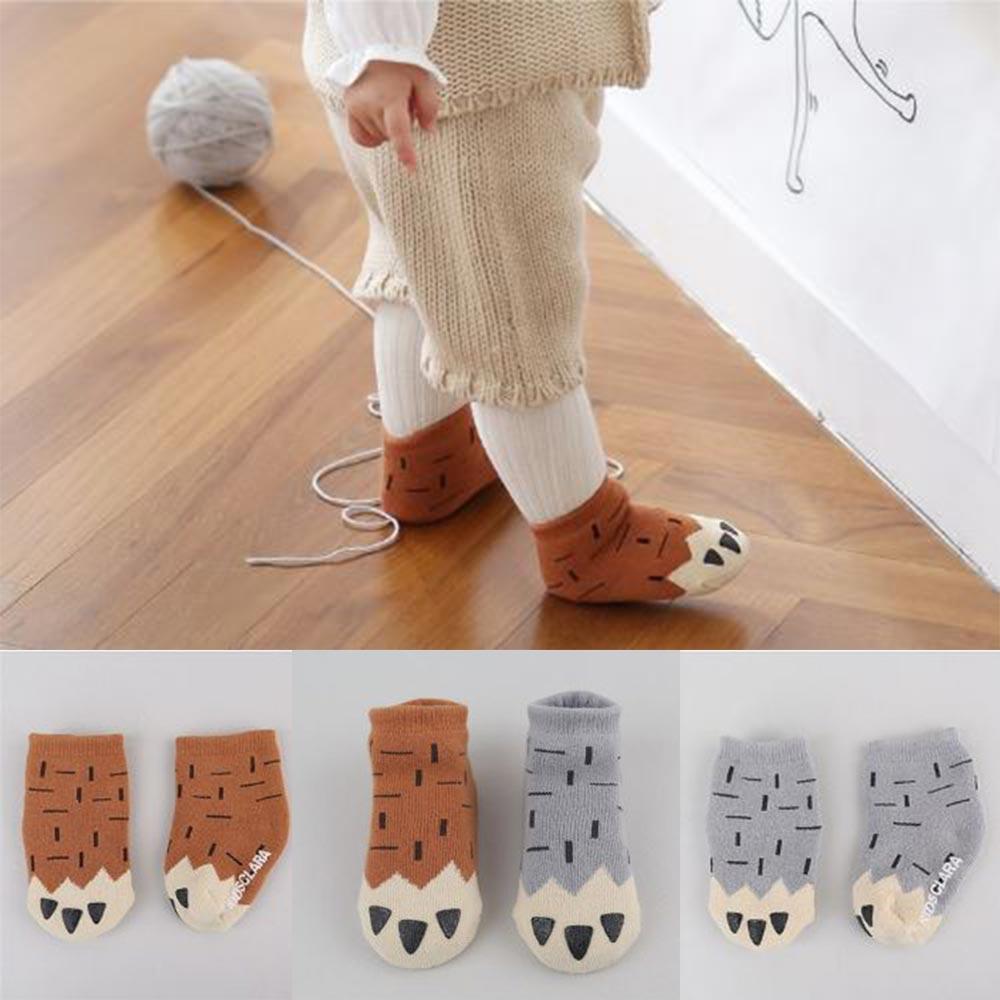 Korea Imports 動物爪子嬰兒襪
