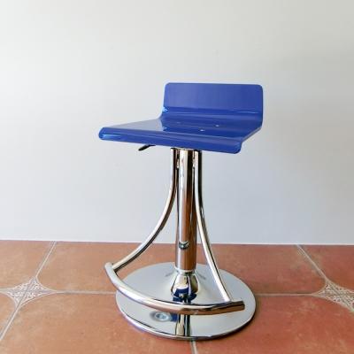 Amos-精品壓克力質感低背簡約升降吧檯椅