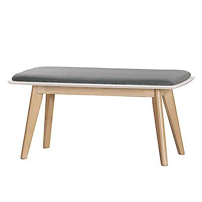 Bernice-諾維雅實木板凳/長椅-100x44x48cm