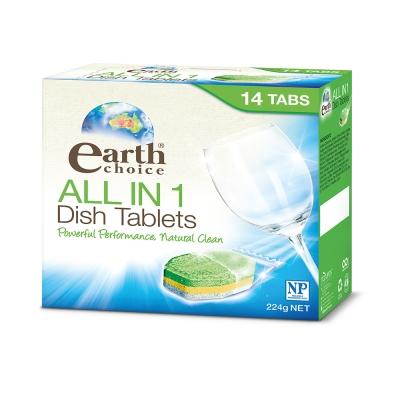 澳洲Natures Organics 植粹濃縮洗碗片(洗碗機專用)14入